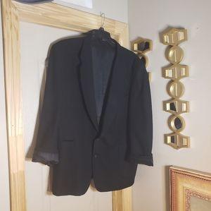 Oscar de larenta studio 48R black blazer